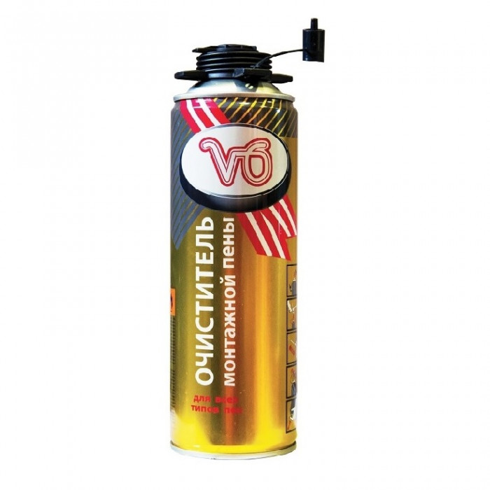 Очиститель пены «V6», 300 гр., 12шт