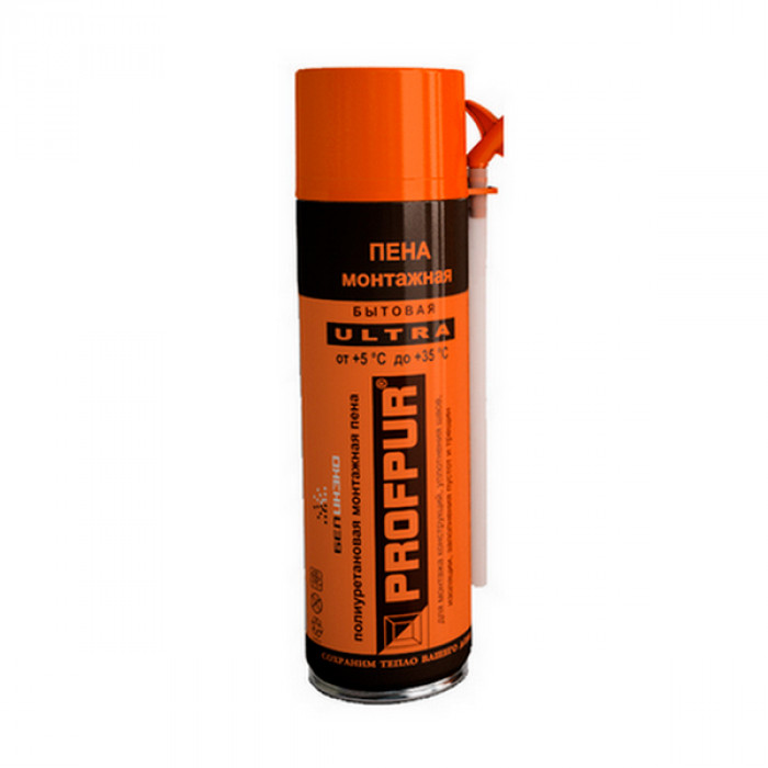 Очиститель пены PROFPUR ultra, 500мл, 12 шт.