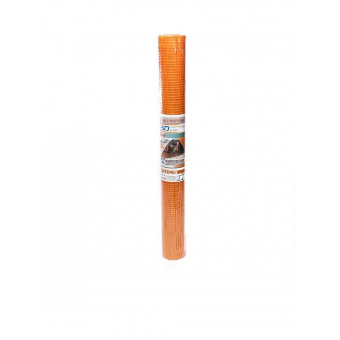 """Сетка стеклотканевая SD-GLASS """"Для стяжки"""" яч. 10*10, 90 гр/м.кв (1м*20м)±10%"""
