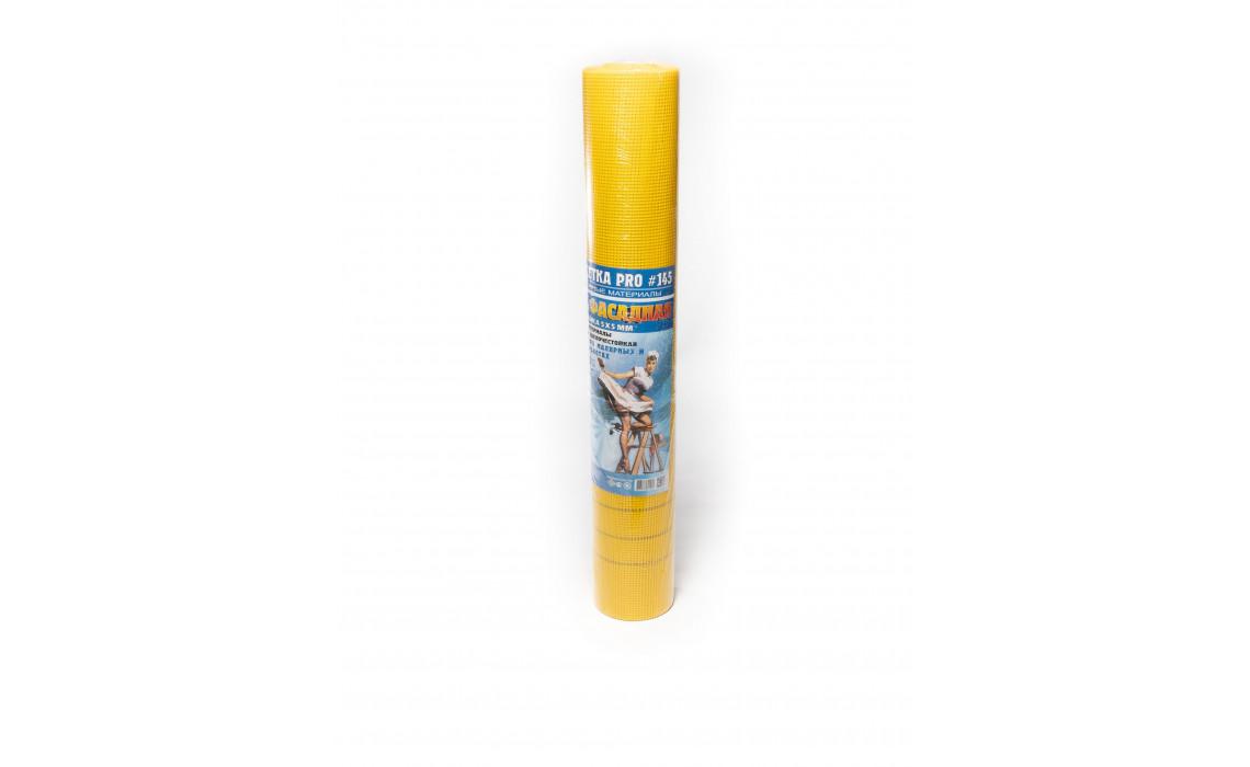 "Сетка стеклотканевая ""фасадная"" SD-40 Professional, ячейка 5х5, 145 гр/м.кв., 1м х 40 м"