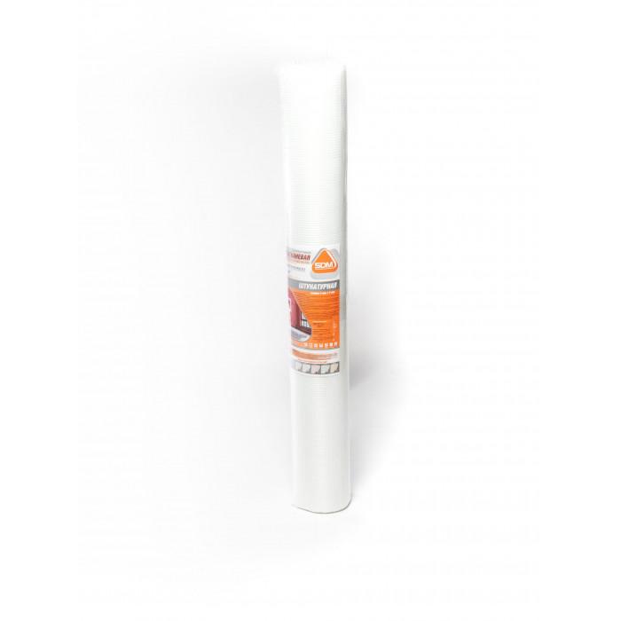 "Сетка стеклотканевая ""штукатурная"" SD-GLASS Professional, ячейка 5х5, 65 гр/м.кв., 1м х 20м± 10%"